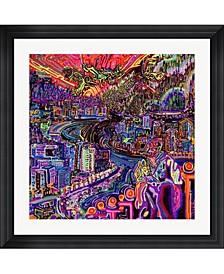 "Hobo by Josh Byer Framed Art, 32"" x 32"""