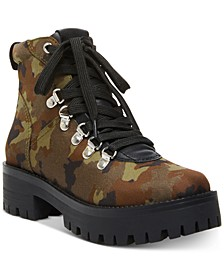 Women's Bumper Lace-Up Hiker Booties