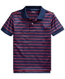 Toddler Boys Lisle Performance Knit Polo Shirt