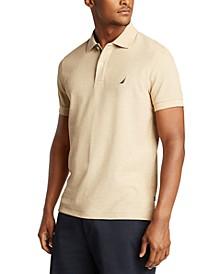 Men's Slim-Fit Deck Solid Polo Shirt
