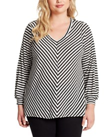 Jessica Simpson Plus Size Boxy Top