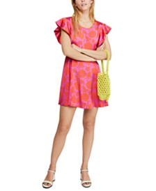 Free People Electric Posie Mini Dress