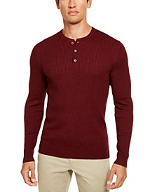 Men's Cashmere Henley Shirt
