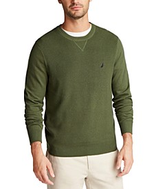 Men's Navtech Crewneck Solid Sweater