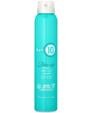 It's a 10 Blow Dry Miracle Split End Mender, 6-oz, from Purebeauty Salon & Spa