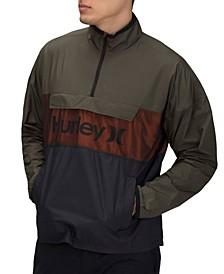 Men's Siege Anorak Logo Jacket
