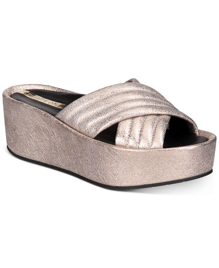 Kenneth Cole New York - Women's Damariss Wedge Sandals