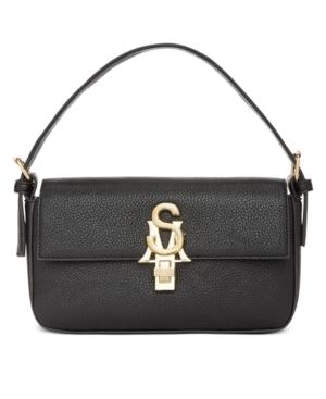 Steve Madden Stevete Shoulder Bag In Black/Gold
