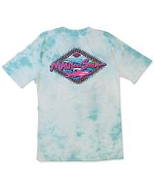 Men's Bomboro Tie-Dyed Logo Graphic T-Shirt