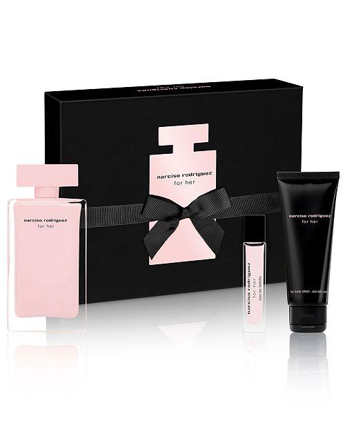 Narciso Rodriguez 3-Pc. For Her Eau de Toilette Gift Set