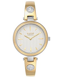 Women's Brigitte Two-Tone Stainless Steel Bracelet Watch 34mm