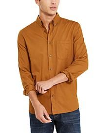 Men's Relaxed Fit Button-Down Shirt