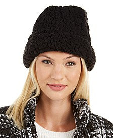 INC Teddy Faux-Fur Beanie, Created For Macy's