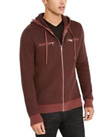 I.N.C. Men's Textured Zip-Front Hoodie, Created for Macy's