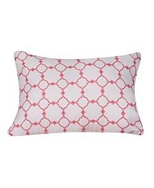 "Harper Lane Lorraine Printed Oblong Pillow, 12"" x 18"""