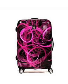 "Atomic 24"" Spinner Rolling Luggage Suitcase"
