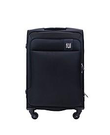 """Flemington 25"""" Soft Sided Rolling Luggage Suitcase"""