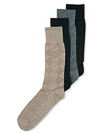 Perry Ellis Men's Socks, Diamond Single Pack