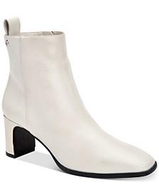 Calvin Klein Women's Deni Leather Booties