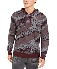 INC Men's Jax Hooded Knit Sweater, Created For Macy's