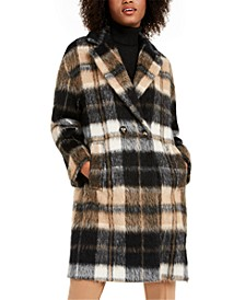 Astro Plaid Coat