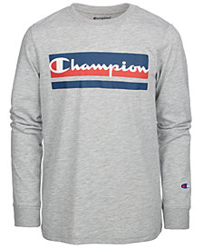 Champion Little Boys Logo-Print T-Shirt