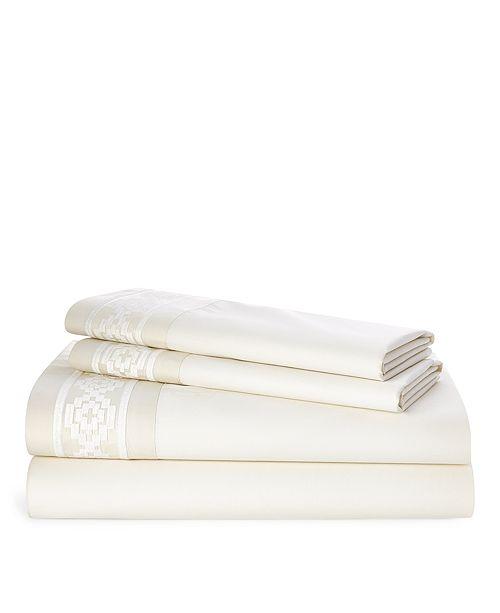 Lauren Ralph Lauren Ralph Lauren Mason Embroidered Queen Sheet Set