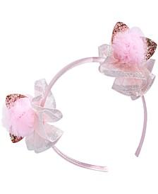 Little & Big Girls Pom-Pom Headband