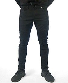 BLACK DISTRESSED JEAN