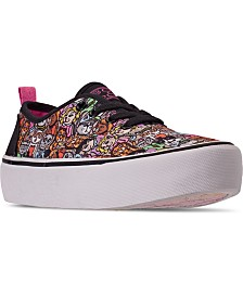 Skechers Women's Bobs Marley Meow Ages Casual Sneakers from Finish Line