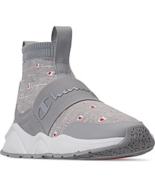 Women's Rally Script Casual Sneakers from Finish Line
