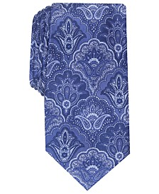 Tasso Elba Men's Classic Paisley Silk Tie, Created For Macy's