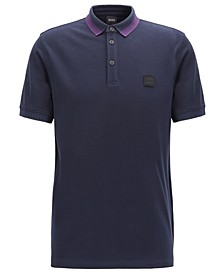 BOSS Men's Pase Regular-Fit Cotton Polo Shirt