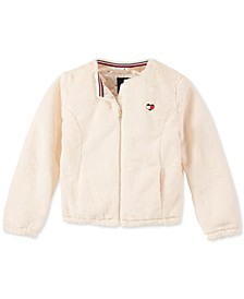 Little Girls Faux-Fur Jacket