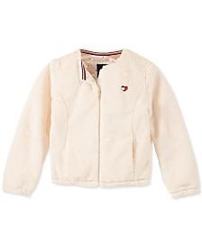 Tommy Hilfiger Toddler Girls Faux-Fur Jacket