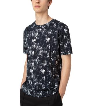 Hugo Boss T-shirts HUGO MEN'S COTTON DIAMEN CROWD-PRINT T-SHIRT