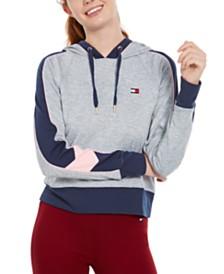 Tommy Hilfiger Sport Raglan-Sleeve Colorblocked Hoodie