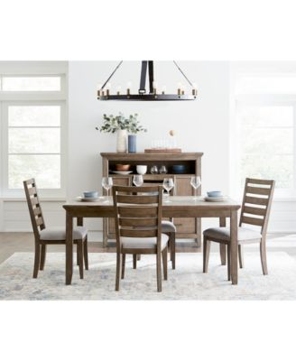 Mesa Dining Furniture, 5-Pc. Set (Expandable Table & 4 Side Chairs), Created for Macy's
