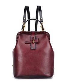 Pamela Leather Backpack
