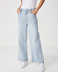 Cotton On High Wide Stretch Jean