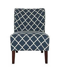 Lattice Upholstered Accent Chair