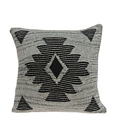 Parkland Collection Shosa Southwest Grey Pillow Cover