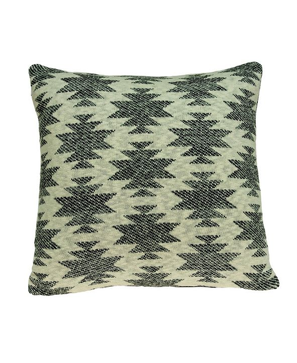 Parkland Collection Awnee Southwest Tan Pillow Cover with Polyester Insert