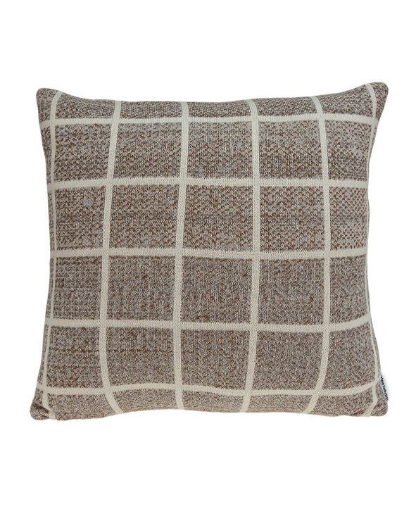 Parkland Collection Stuart Transitional Tan Pillow Cover With Down Insert