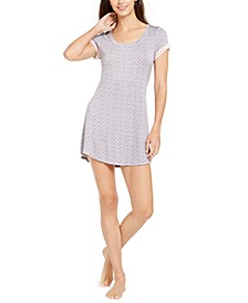 Dot-Print Nightgown
