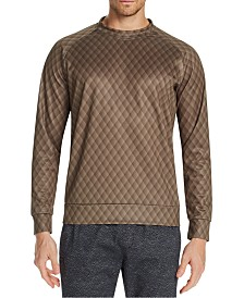 Tallia Men's Slim-Fit Stretch Quilted Sweat Shirt