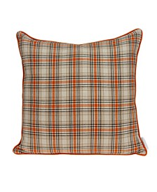 Pinca Transitional Multicolor Pillow Cover With Down Insert