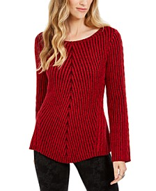 Ribbed Knit Sweater, Created For Macy's
