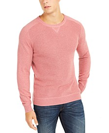 Men's Pima Cotton Crew Neck Sweater, Created For Macy's