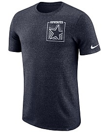 Nike Men's Dallas Cowboys Marled Stadium T-Shirt